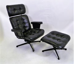 The Executive a 1965 Eames Style Lounge Chair by  Bottemiller for  Homecrest