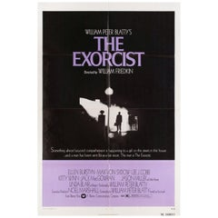 The Exorcist 1974 U.S. One Sheet Film Poster