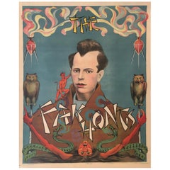 'The Fak Hong' Original Vintage French Theatre and Cabaret Poster, circa 1920