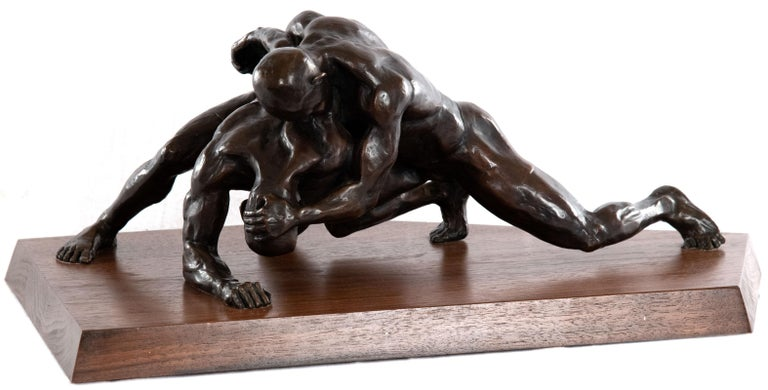 Bronze Finals by Steve Cardon For Sale