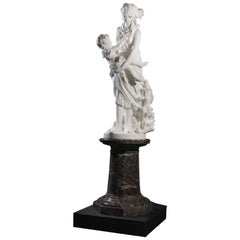 'The Finding of Moses', a Marble Figural Group by Pietro Bazzanti, circa 1870