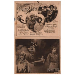 """""""The Flying Ace"""" 1926 U.S. Lobby Card Set of 8"""