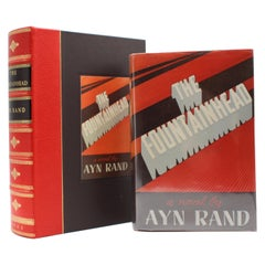 The Fountainhead by Ayn Rand, Early Blakiston Edition, 1943