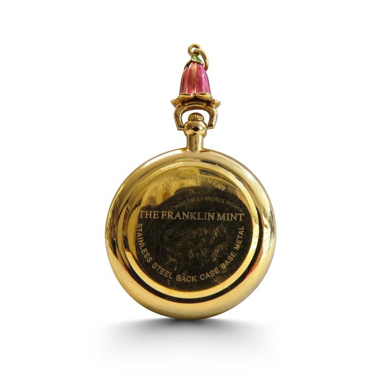 Art Deco Franklin Mint Pocket Watch For Sale