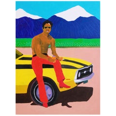 'The Freeway' Portrait Painting by Alan Fears Pop Art