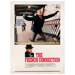 The French Connection 1971 U.S. 30 by 40 Film Poster