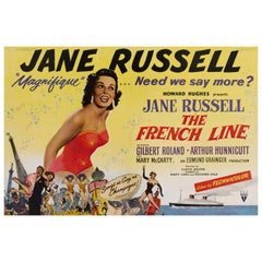 """""""The French Line"""" Poster"""