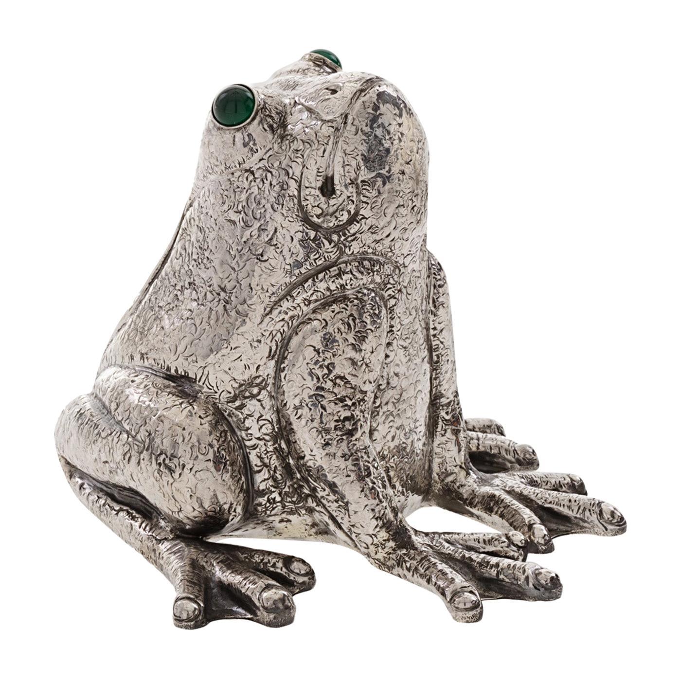 The Frog Sterling Silver Lighter