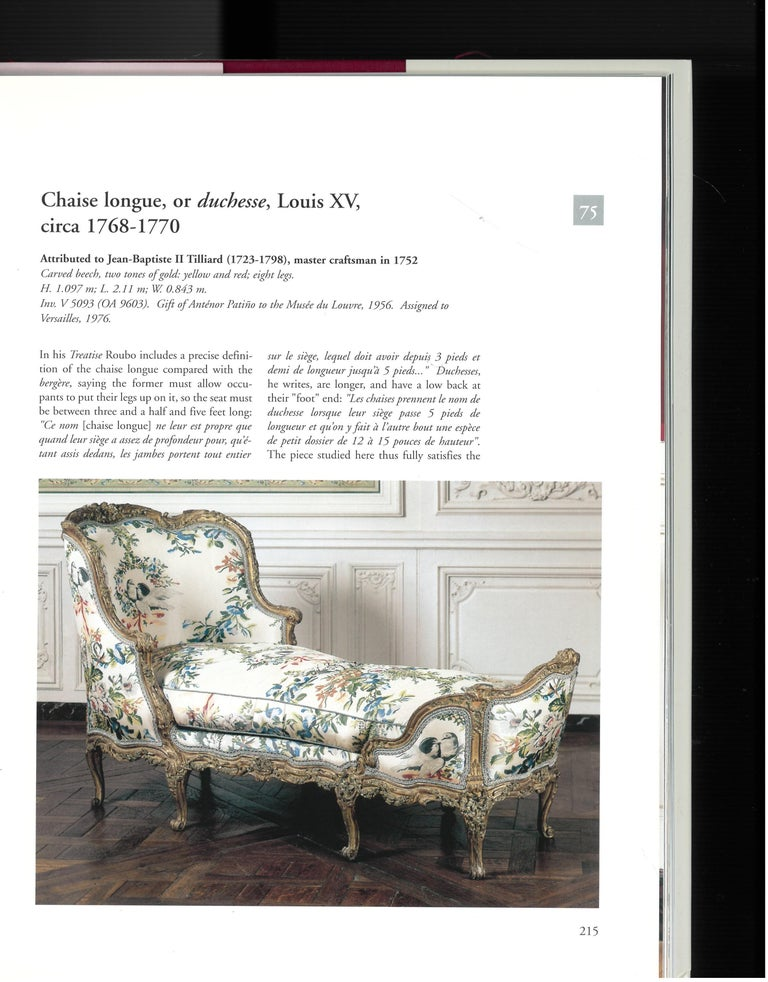 The Furniture of Versailles, 17th and 18th Centuries '2 Volume Box Set' For Sale 4