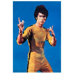 The Game of Death 1978 Hong Kong Commercial Poster