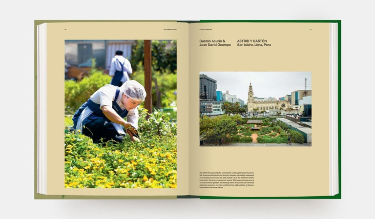 An exclusive glimpse into the gardens of the world's leading restaurants - and access to innovative recipes inspired by them for many chefs, their gardens are a direct extension of their kitchens.   Whether a small rooftop in the city for growing