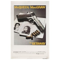 'The Getaway' 1972 U.S. One Sheet Film Poster