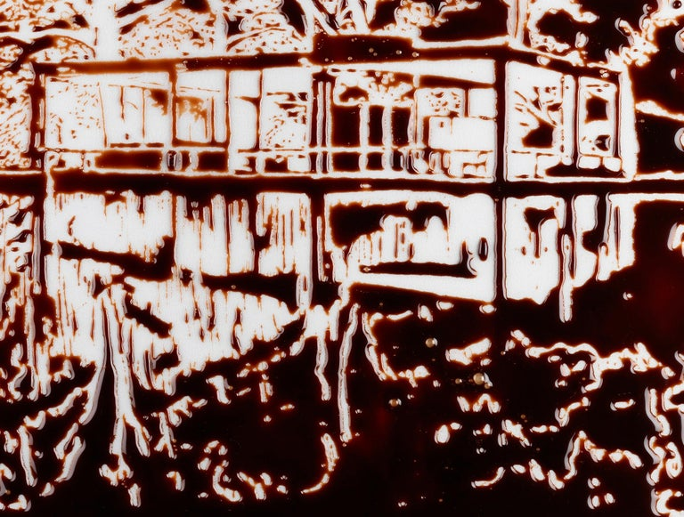 Vik Muniz The Glass House, after Robin Hill Digital C print Measures: 20 in. x 29.6 in. Accompanied by a complete signature label Edition of 25 Unframed.