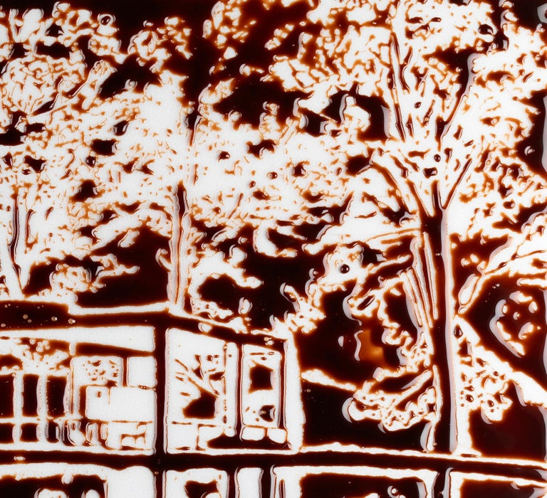 The Glass House, after Robin Hill Photograph by Vik Muniz In New Condition In New Canaan, CT