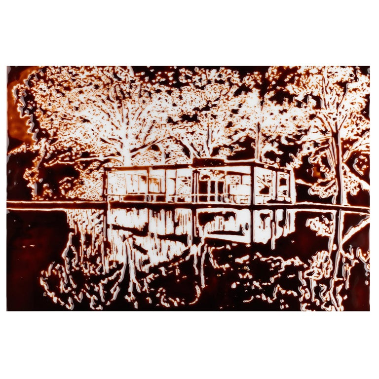 The Glass House, After Robin Hill Photograph by Vik Muniz For Sale