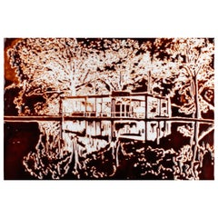 The Glass House, after Robin Hill Photograph by Vik Muniz