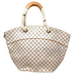 The GM Pampelonne Damier Azure Canvas bag,2007