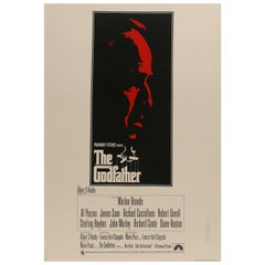 'The Godfather' British Film Poster, 1972