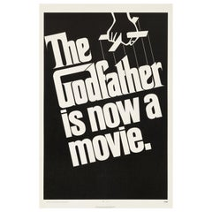 'The Godfather' Original US One Sheet Teaser Movie Poster, 1972