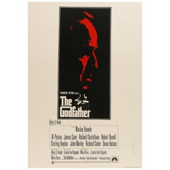 'The Godfather' Original Vintage Movie Poster, British, 1972