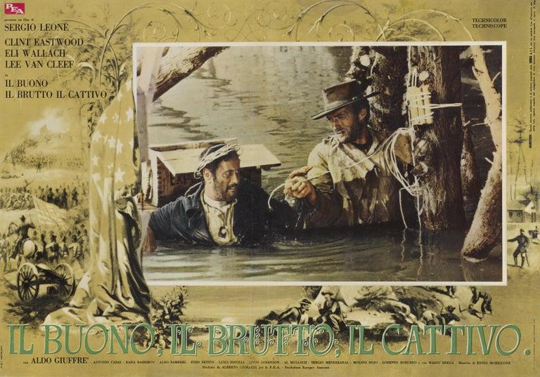 Italian The Good, the Bad and the Ugly / Il Buono Il Brutto Il Cattivo For Sale