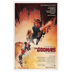 'The Goonies' Original US Movie Poster by Drew Struzan, 1985