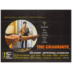 The Graduate Original UK Film Poster, 1967