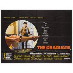 The Graduate Original UK Film Poster, 1967