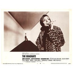 'The Graduate' Original Vintage US Lobby Card Movie Poster, 1967