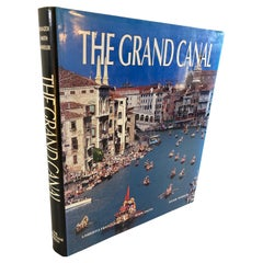 The Grand Canal by Umberto Franzoi Hardcover Coffee Table Book