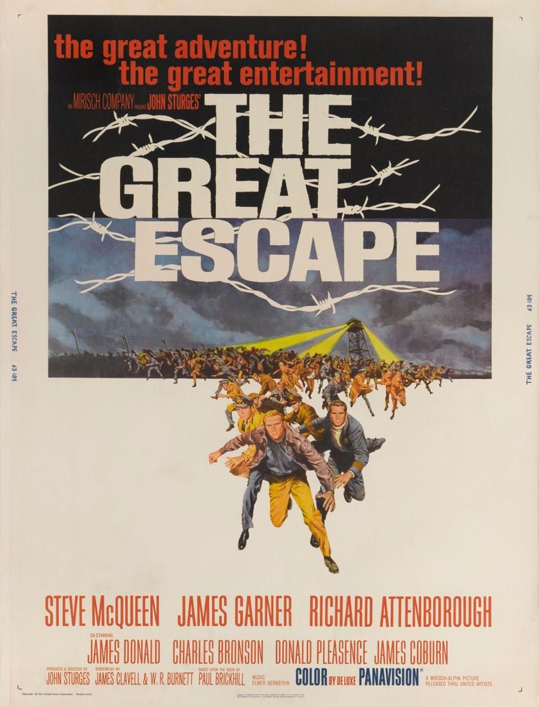 The Great Escape In Excellent Condition For Sale In London, GB