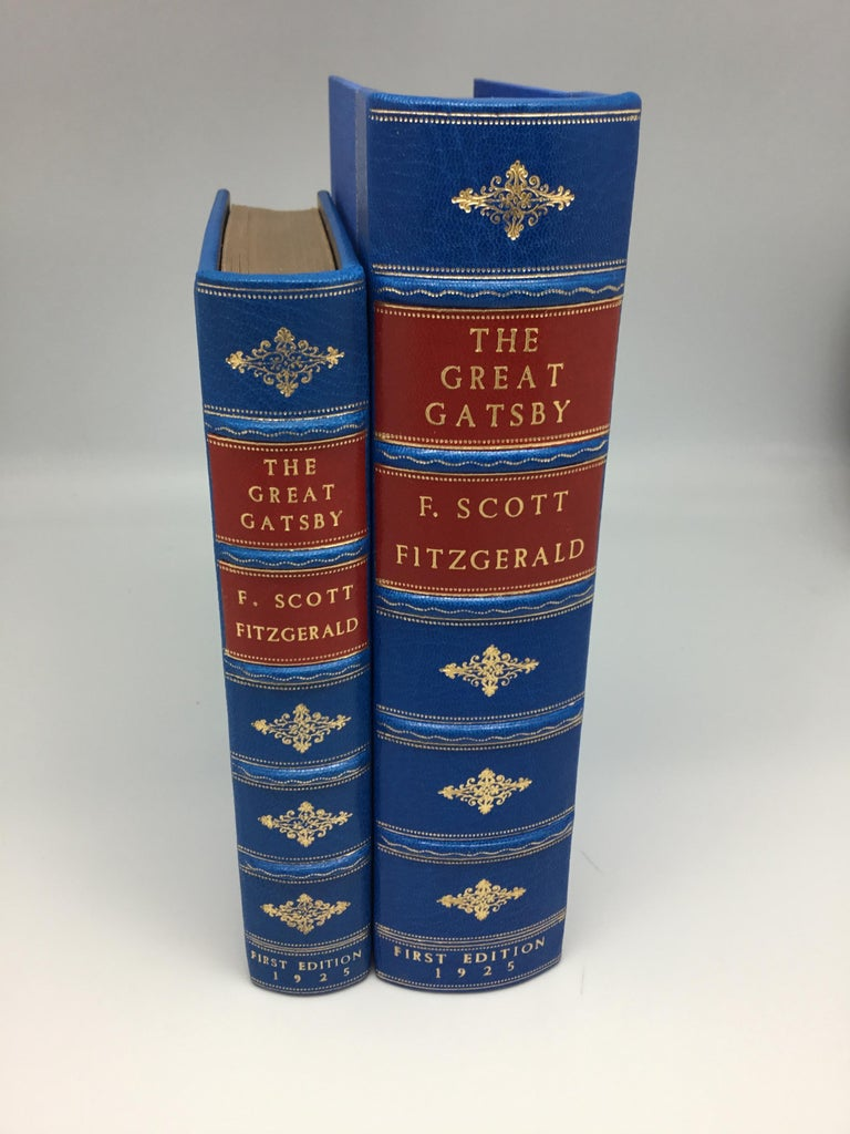 First edition, first issue of F. Scott Fitzgerald's The Great Gatsby, a landmark of 20th century fiction. This haunting tale of