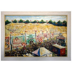 """the Greatest Show on Earth"" by American Artist Dennis Neville"
