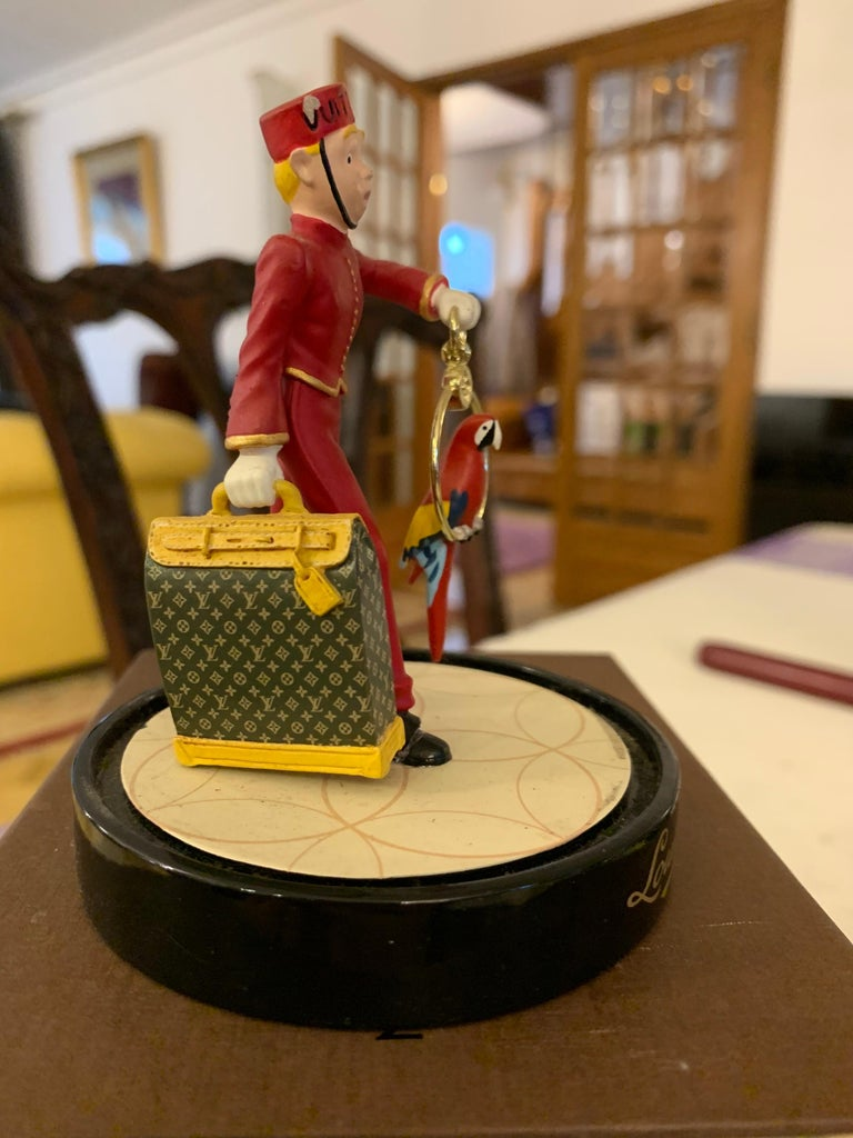 Rare limted edition of Louis Vuitton figurine called