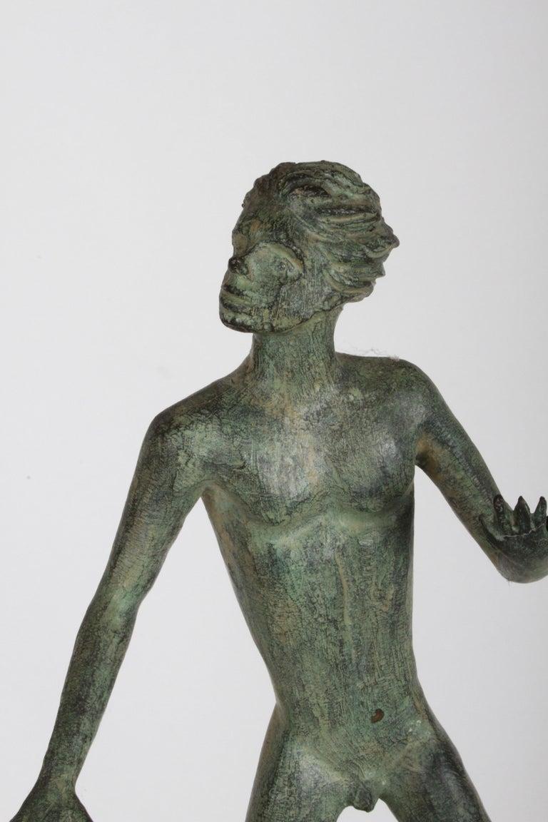 The Hand of God Bronze Sculpture After Carl Milles Sculptor  For Sale 10