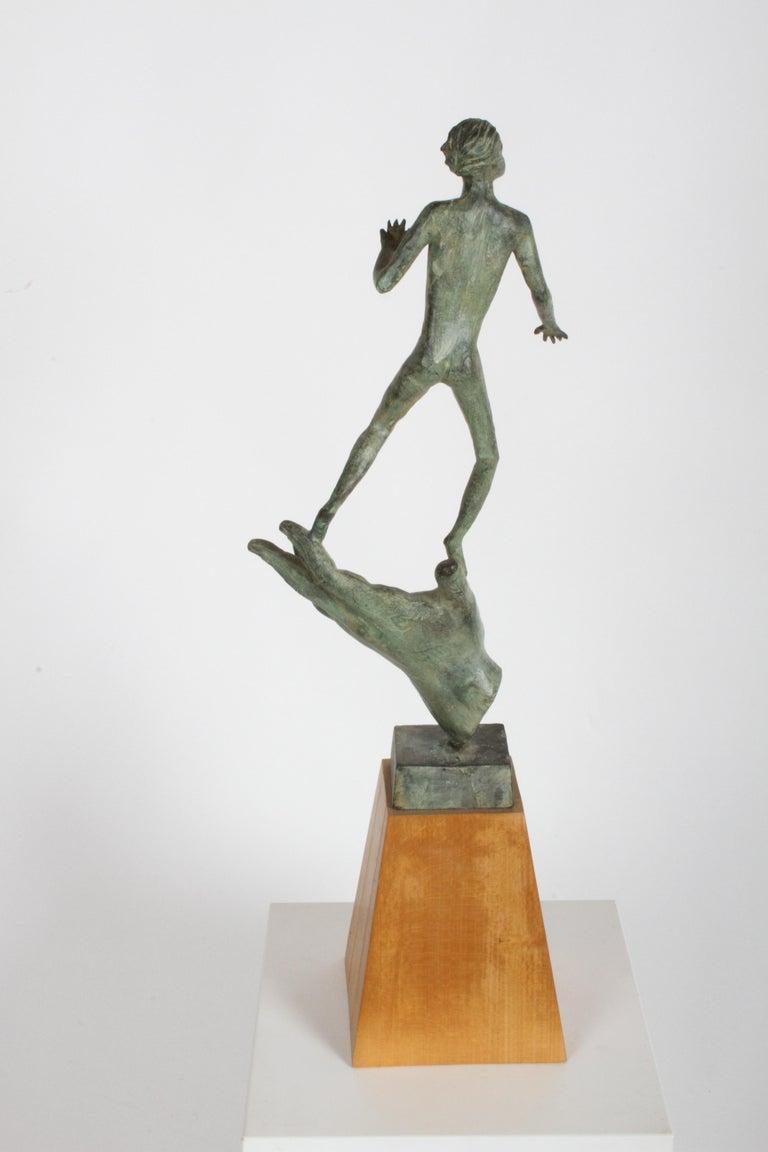 The Hand of God Bronze Sculpture After Carl Milles Sculptor  For Sale 1