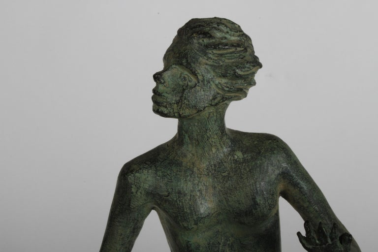The Hand of God Bronze Sculpture After Carl Milles Sculptor  For Sale 3