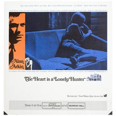 The Heart Is a Lonely Hunter 1968 U.S. Subway Card Film Poster