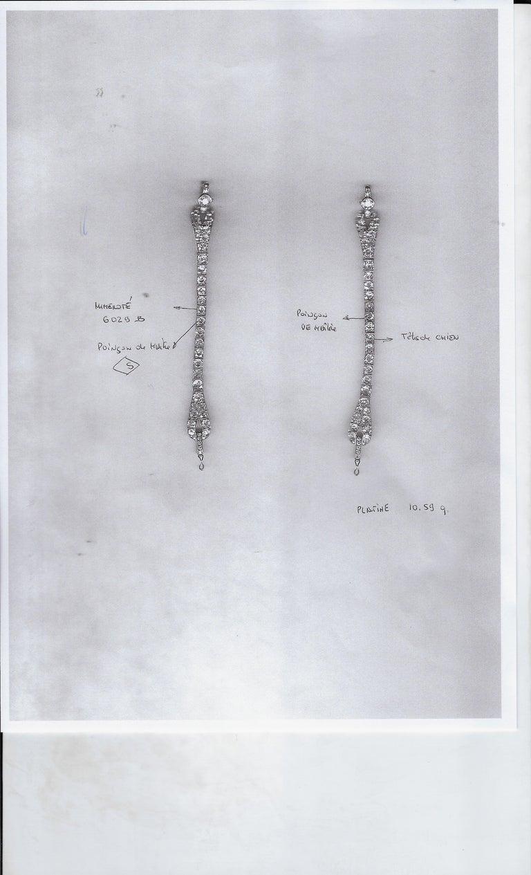 The Historic Art Deco Porges Sautoir Necklace by Cartier For Sale 2