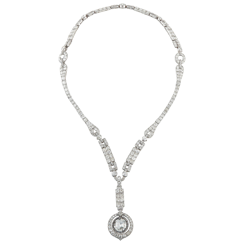 vintage 1950 cartier collier perle