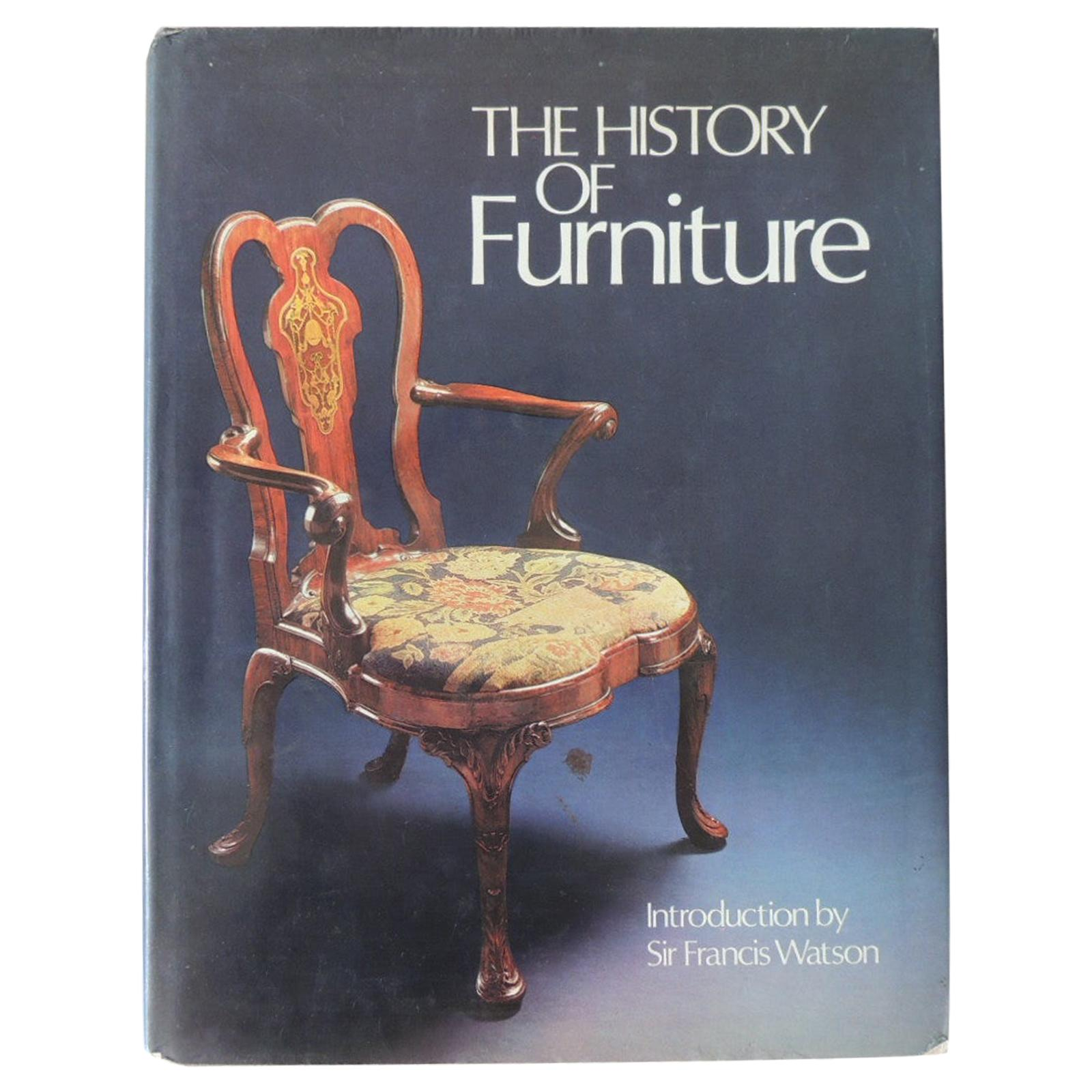 The History of Furniture Hardcover Coffee Table Book