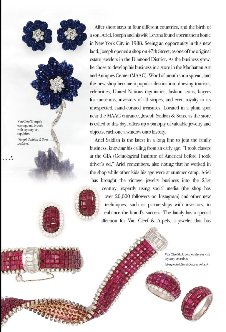 """""""The History of Jewelry: Joseph Saidian and Sons""""  A beautiful coffee table book published by Rizzoli     This book is over 170 years in the making chronicling some of the greatest jewels and gems of all time handles over the past four generations"""