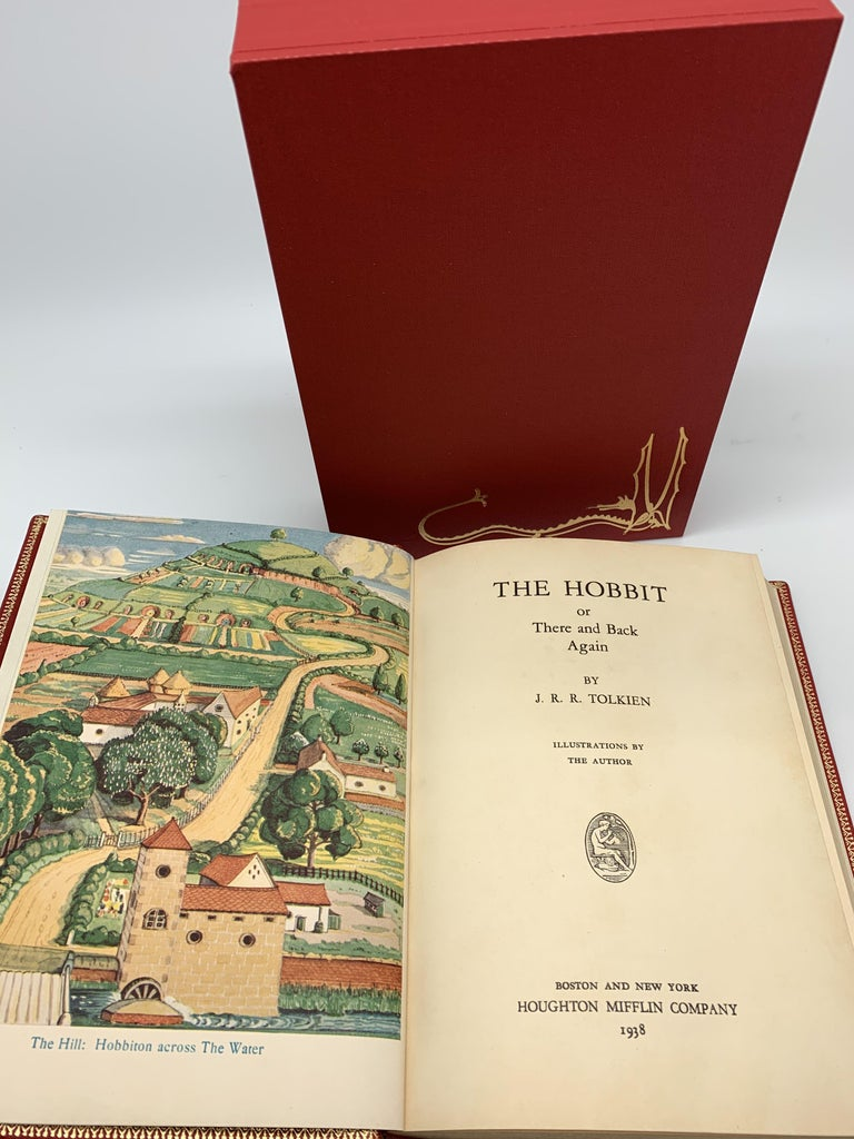 The Hobbit by J.R.R. Tolkien, First American Edition, 1938 In Good Condition For Sale In Colorado Springs, CO