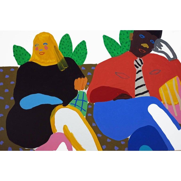 'The Honeymooners' Portrait Painting by Alan Fears Pop Art For Sale