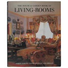 The House and Garden Book of Living Rooms Hardcover Decoration Book