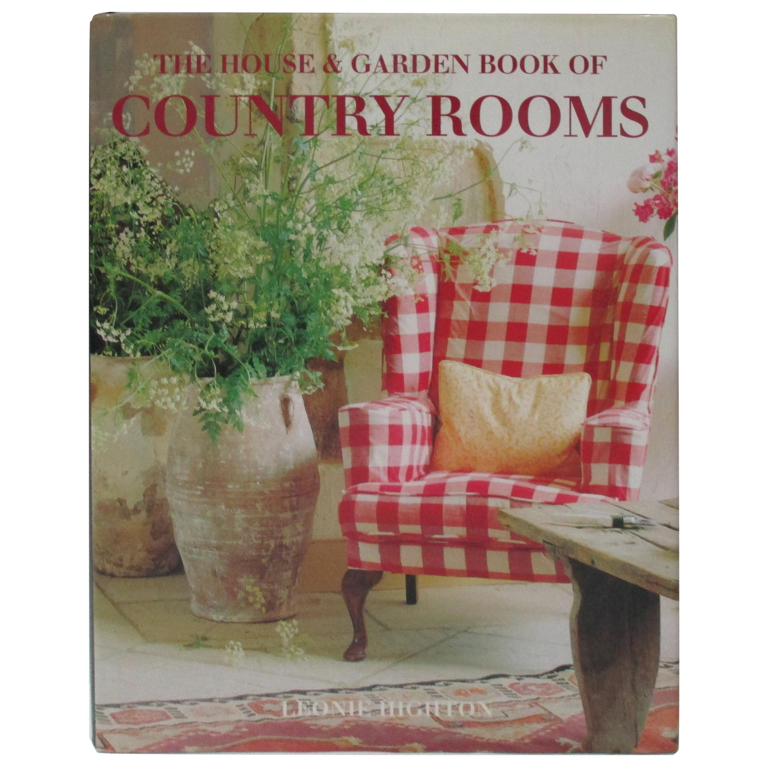 The House and Garden Hardcover Book of Country Rooms