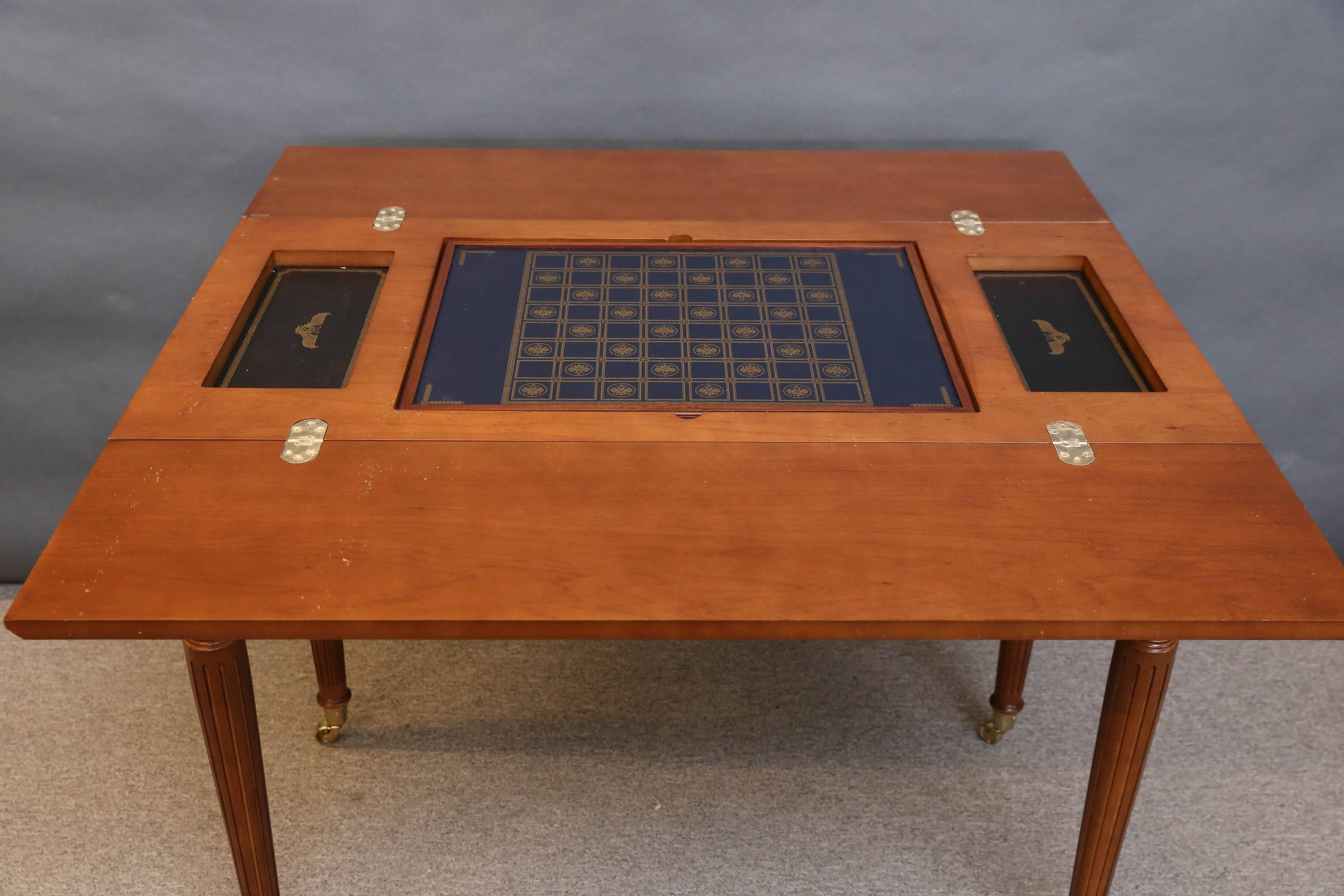 House Of Faberge Imperial 5 In 1 Game Table Done By Franklin Mint In  Excellent Condition