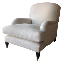 The Howard, Custom Made Belgian Linen Armchair