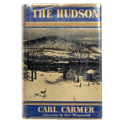 The Hudson by Carl Carmer, First Edition