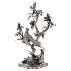 The Hunter Sterling Silver Candelabra